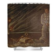 Jews In Space Shower Curtain