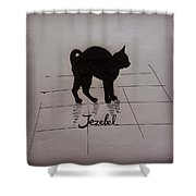 Jezebel Shower Curtain