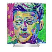 JFK Shower Curtain