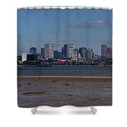 Jfk Library And Boston Shower Curtain