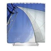 Jib Shower Curtain