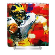 Jim Harbaugh  I Guarantee Shower Curtain