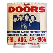Jim Morrison And The Doors Poster Collection 3 Shower Curtain