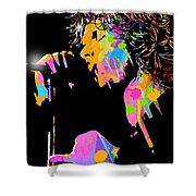 Jim Morrison Shower Curtain