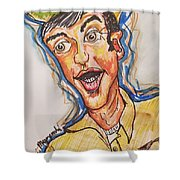 Jim Nabors Shower Curtain