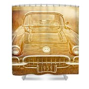 Jimmy Bobs Treasure Shower Curtain