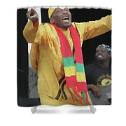 Jimmy Cliff Painting Shower Curtain
