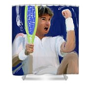Jimmy Connors Shower Curtain
