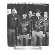Jimmy Doolittle And His Crew Shower Curtain by War Is Hell Store