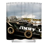 Jimmy L Shower Curtain