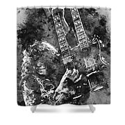 Jimmy Page - 02 Shower Curtain