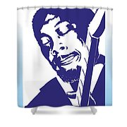 Jimmy Rogers Shower Curtain