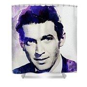 Jimmy Stewart, Vintage Actor Shower Curtain