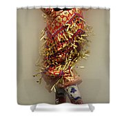 Pow Wow Jingle Dancer 6 Shower Curtain