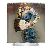 Pow Wow Jingle Dancer 7 Shower Curtain