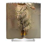 Pow Wow Jingle Dancer 9 Shower Curtain