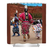 Jingle Dress And Fancy Shawl Dancers Shower Curtain