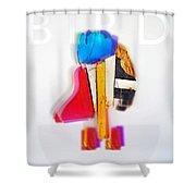 Jive Bird Shower Curtain