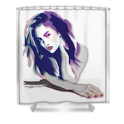 Jlo- Jennifer Lopez Shower Curtain