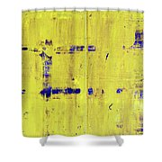 Jmb_yellow Shower Curtain