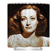 Joan Crawford, Hollywood Legends Shower Curtain