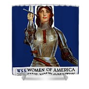 Joan Of Arc Saved France - Save Your Country Shower Curtain