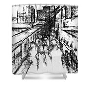 Frankenberg Material. 15 March, 2015 Shower Curtain