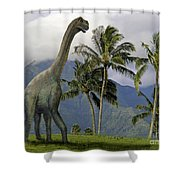 Jobaria In Meadow Shower Curtain