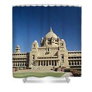 Jodhpur Bhawan Palace Shower Curtain