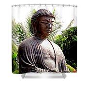 Jodo Mission Lahaina 7 Shower Curtain