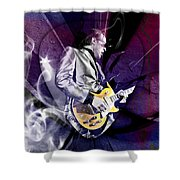 Joe Bonamassa Art Shower Curtain