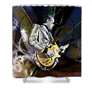 Joe Bonamassa Blues Guitarist Shower Curtain