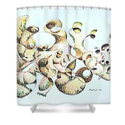 Joe Boulder Shower Curtain