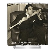Joe Dimaggio (1914-1999) Shower Curtain
