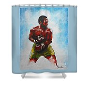 Joe Frazier Shower Curtain