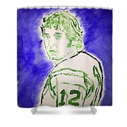 Joe Namath Shower Curtain