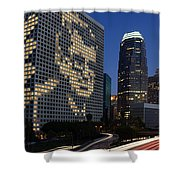 Joe Paterno City Scape Shower Curtain