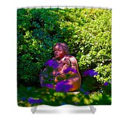 Joe T Garcias Sculpture Shower Curtain