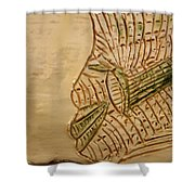 Joels Relax Time - Tile Shower Curtain