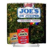 Joe's On Juniper Shower Curtain