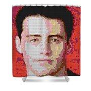 Joey Lego Mosaic Shower Curtain