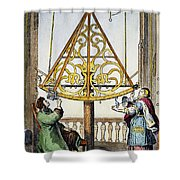 Johannes Hevelius Shower Curtain