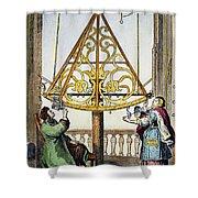 Johannes Hevelius Shower Curtain