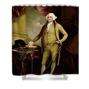 John Adams (1735-1826) Shower Curtain