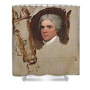 John Bill Ricketts Shower Curtain