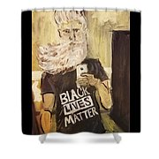 John Brown Selfie  Shower Curtain