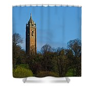 John Cabot Tower Shower Curtain