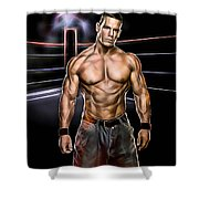 John Cena Wrestling Collection Shower Curtain