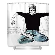 John Shower Curtain