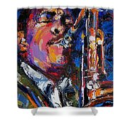 John Coltrane Live Shower Curtain